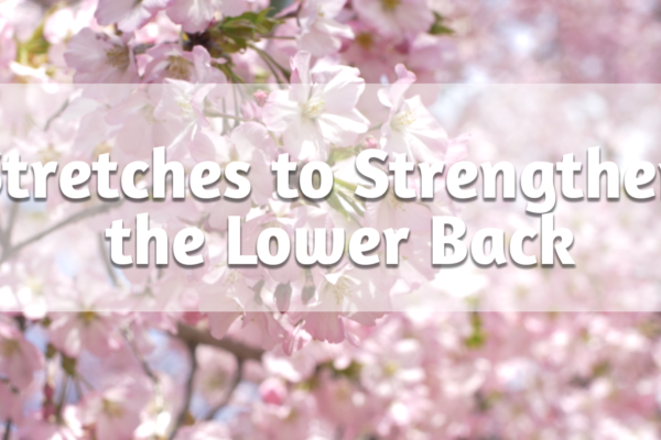 Top Floor Exercises for a Deep Lower Back Stretch