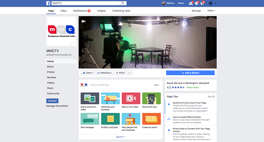 Follow Us On Facebook - Montgomery Municipal Cable Television MMC-TV