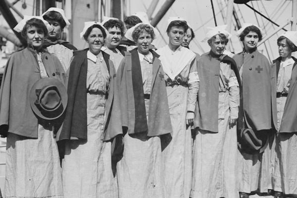 American Red Cross Nurses Always on the Frontlines