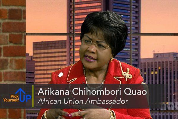 Meet the African Union Ambassador to the United States, Arikama Chihombori-Quao