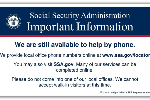 I'm registered for My Social Security are you?