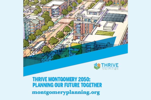 Residents Share Your Feedback for the Growth of the County with Thrive Montgomery 2050