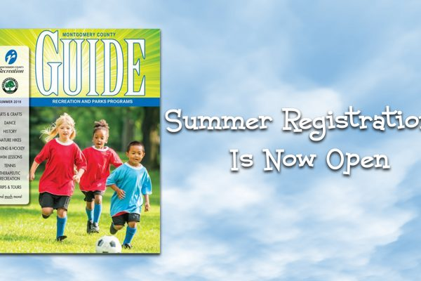 Registration Opens for Montgomery County Recreation and Montgomery Parks Summer Programs and Activities